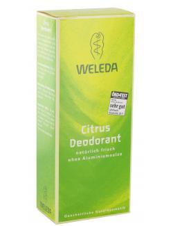 Weleda Citrus Deodorant Spray (100 ml) - 4001638097079