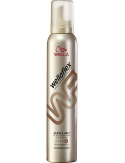 Wella Wellaflex Schaumfestiger Glanz & Halt ultra starker Halt (200 ml) - 5410076959044