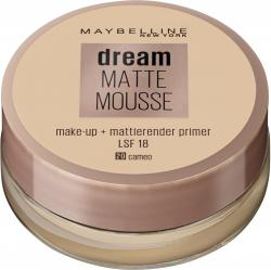 Maybelline Jade Dream Matte Mousse Make-Up 20 cameo LSF 18