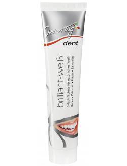 Jeden Tag Dent Zahncreme brillant-weiß (125 ml) - 4306180002534
