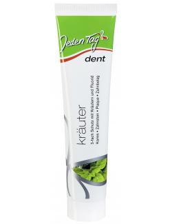 Jeden Tag Dent Zahncreme Kräuter (125 ml) - 4306180002589