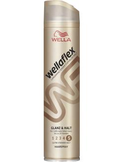 Wella Wellaflex Haarspray Glanz & Halt ultra starker Halt (250 ml) - 5410076958931