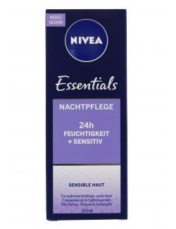 Nivea Sensitive Nachtpflege (50 ml) - 4005808920570