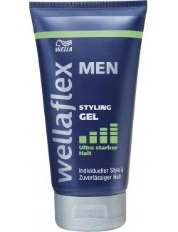 Wella Wellaflex Men Styling Gel ultra starker Halt (150 ml) - 4015600833015
