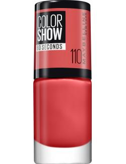 Maybelline New York Colorshow Nagellack 110 urban coral