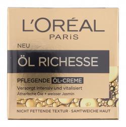 L'Oréal Paris Öl Richesse pflegende Öl-Creme (50 ml) - 3600522632177