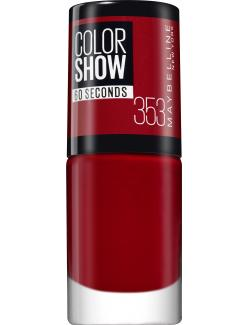 Maybelline New York Colorshow Nagellack 353 red (1 St.) - 30104877