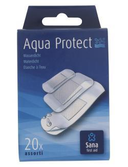 Sana first aid Aqua Protect Pflaster wasserdicht (20 St.) - 8712175931660