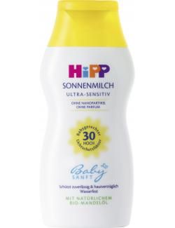 Hipp Babysanft Sonnenmilch Ultra-sensitive LSF 30