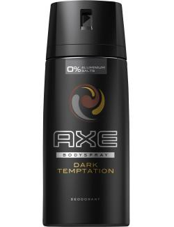 Axe Dark Temptation Deodorant Bodyspray (150 ml) - 8717644256152