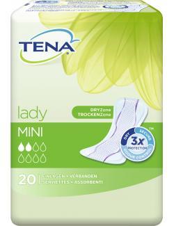 Tena Lady Einlagen mini (20 St.) - 7310797571304