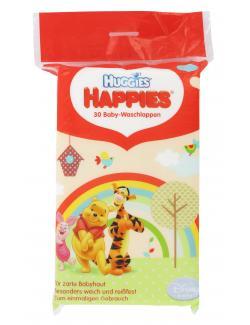 Huggies Happies Baby-Waschlappen (30 St.) - 4006297709103
