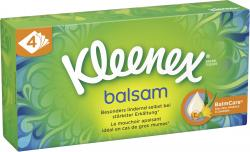 Kleenex Balsam Taschentücher Box