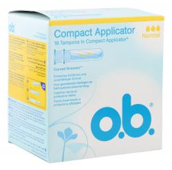 O.b. Compact Applicator Tampons normal (16 St.) - 3574660363692