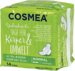 Cosmea Comfort Plus Ultra Binden normal mit Flügeln