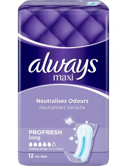 Always Binden Maxi ProFresh Long