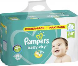 Pampers Baby-Dry Gr. 4+ Maxi plus 10-15 kg