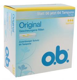 O.b. Original Tampons normal (64 St.) - 3574661128672