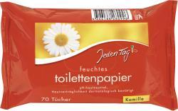 Jeden Tag Feuchtes Toilettenpapier Kamille