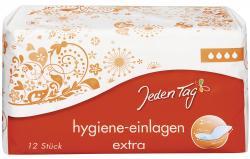 Jeden Tag Hygiene Einlagen extra