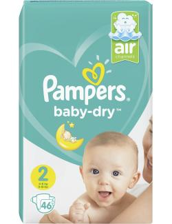 Pampers Baby-Dry Gr. 2 Mini 4-8 kg