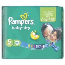 Pampers Baby Dry Gr. 5 Junior 11-25kg (26 St.) - 4015400696216