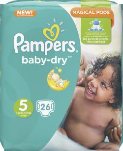 Pampers Baby Dry Gr. 5 Junior 11-25kg
