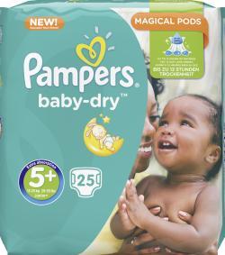 Pampers Baby Dry Gr. 5+ Junior 13-27kg