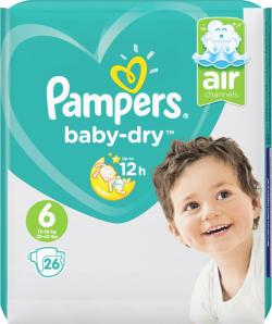 Pampers Baby-Dry Gr. 6 13-18kg