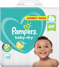 Pampers Baby Dry Gr. 5+ Junior plus 12-17 kg