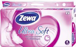 Zewa Ultra Soft Toilettenpapier 4-lagig
