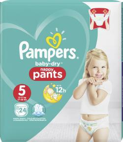 Pampers Baby Dry Pants Gr. 5 Junior 12-18 kg (24 St.) - 4015400745037