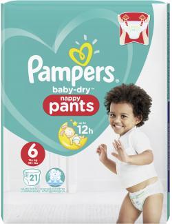 Pampers Baby Dry Pants Gr. 6 extragroß 16+kg (21 St.) - 4015400745068