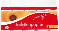 Jeden Tag Toilettenpapier 3-lagig