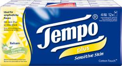 Tempo Plus Sensitive Skin Balsam Kamille und Aloe Vera (12 x 9 St.) - 7322540786750