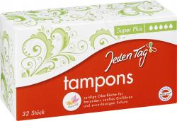 Jeden Tag Tampons Super Plus