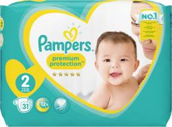 Pampers Premium Protection New Baby Gr. 2 Mini Gr. 3-6 kg (31 St.) - 4015400835851