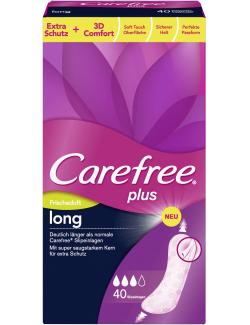 Carefree plus Slipeinlagen long mit Frischeduft (40 St.) - 3574661251462