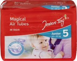 Jeden Tag Air dry Windeln Gr. 5 Junior 15-25kg