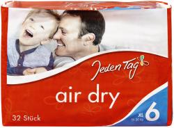 Jeden Tag Air dry Windeln Gr. 6 XL 16-30kg (32 St.) - 4306188352358