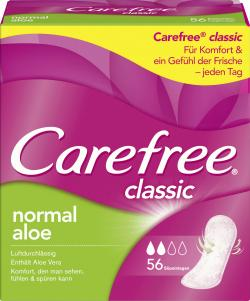Carefree classic Slipeinlagen normal Aloe