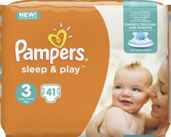 Pampers Sleep & Play Gr.3 Midi 5-9 kg (41 St.) - 4015400887539