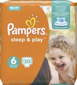 Pampers Sleep & Play Gr.6 Extra Large 15+ (30 St.) - 4015400892342
