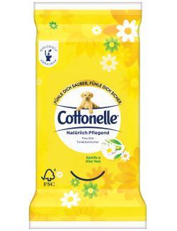 Cottonelle Feucht natürlich pflegend Reisegröße