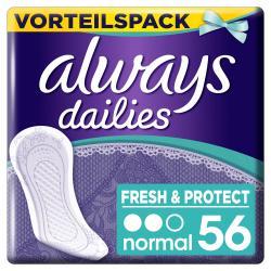 Always Slipeinlagen Fresh &Protect Normal (56 St.) - 8001090740427