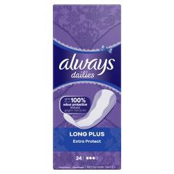 Always Slipeinlagen Extra Protect Long Plus