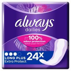 Always Dailies Slipeinlagen Extra Protect Long Plus