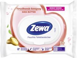 Zewa Feuchte Toilettentücher Shea Butter (42 St.) - 7322540908855