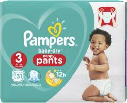 Pampers Baby-Dry Nappy Pants Gr. 3 Midi 6-11 kg