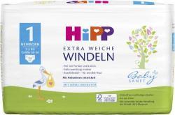 Hipp Babysanft Windeln Gr. 1 Newborn 2-5kg